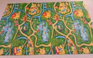 Детский коврик юрим: отзывы о складном коврике