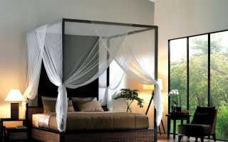 Спальня с балдахином (36 фото): дизайн интерьера с кроватью