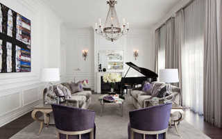 Интерьер гостиной в классическом стиле (83 фото): «классика» для типовой комнаты, модные тенденции –  в оформлении зала