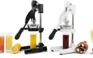 Соковыжималка-пресс: механические и электические модели холодного отжима своими руками