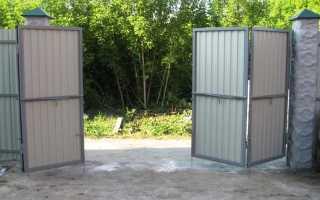Складные ворота: цепной привод для ворот «гармошка»