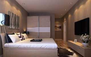 Дизайн спальни с кроватью (110 фото): с синей кроватью у окна