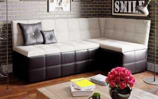 Угловой раскладной диван на кухню (37 фото): кухонный раскладывающийся диван