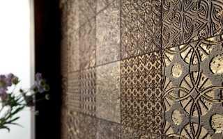 Рельефная плитка: керамические покрытия для стен с необычной фактурой