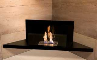 Угловой камин в интерьере гостиной (57 фото): электрокамин и биокамин, размещение электрического камина