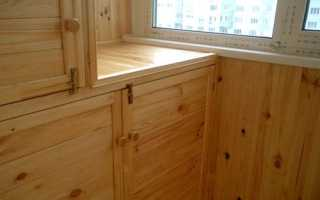 Полки на балконе (49 фото): как сделать из вагонки своими руками