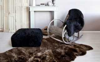 Ковры из овчины: модели из натуральной овечьей шкуры длинноворсовой тибетской или австралийской овцы