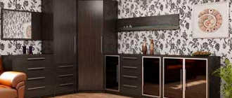 Угловые стенки в гостиную (42 фото): мини-стенка под телевизор со шкафом в стиле классика