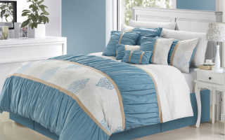 Серо-голубая спальня (37 фото): как оформить интерьер в серо-голубых тонах
