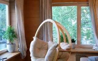 Подвесные кресла (53 фото): прикрепляемые к потолку квартиры, висячие качалки и шезлонги