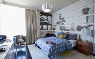 Шторы для мальчика-подростка (49 фото): занавески в детскую комнату и дизайн спальни в современном стиле