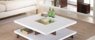 Белые журнальные столики (45 фото): ажурные модели в стилях прованс и классика