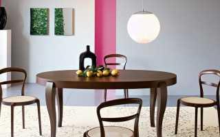 Круглый стул: полукруглая конструкция со спинкой и изделие