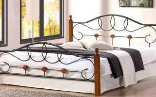 Двуспальные металлические кровати (32 фото): железная кровать, варианты с металлическим каркасом