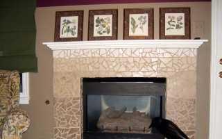 Отделка камина плиткой (30 фото): клинкерная, шамотная, керамическая плитка для печей