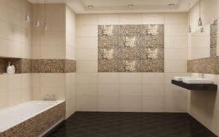 Коричневая плитка: виды и текстура декоративной облицовочной керамической плитки