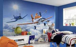 Детские фотообои (101 фото): дисней, трансформеры, тачки и корабль в интерьере