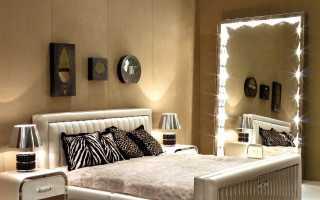 Зеркало с подсветкой своими руками: как сделать зеркало заднего вида c лампочками, модели со светодиодной лентой по периметру