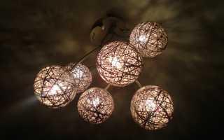 Потолочная люстра на кухню (58 фото): кухонная светодиодная красная люстра своими руками