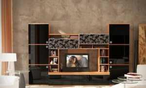 Мини-стенки (44 фото): маленькие компактные варианты под телевизор