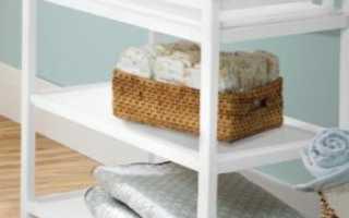 Пеленальные столики своими руками (29 фото): как сделать столик из комода, варианты для новорожденных