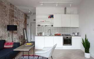 Кухня-гостиная в стиле «минимализм» (32 фото): дизайн интерьера малогабаритных помещений