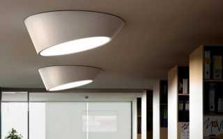 Накладные светодиодные светильники (78 фото): варианты для внутреннего освещения