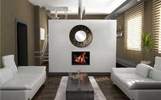 Дизайнерские зеркала: круглые напольные модели и большие зеркала на стену в интерьере