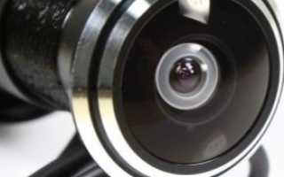 Камера в глазок двери с записью: как выбрать входной видеоглазок
