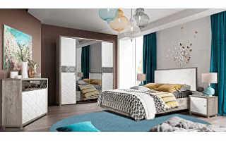 Мебель для спальни в современном стиле: модный гарнитур