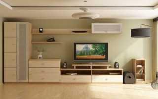 Интерьер гостиной комнаты: фото в современном стиле эконом класса