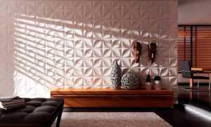 3D МДФ-панели: стеновые объемные варианты в дизайне интерьера