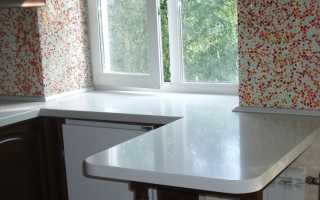 Стол-подоконник на кухне (32 фото): встроенный кухонный стол вместо подоконника в качестве его продолжения