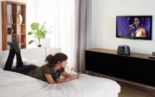На какой высоте вешать телевизор в спальне