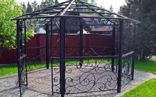 Беседки из металла своими руками (37 фото): чертежи и размеры, варианты дизайна садовых конструкций