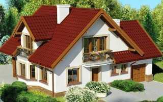 Планировка дома 6 на 9 с мансардой: план коттеджа размером 6х9