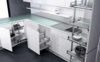 Маленькие угловые кухни – дизайн: фото