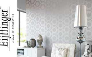 Обои Eijffinger: красивые идеи декора стен