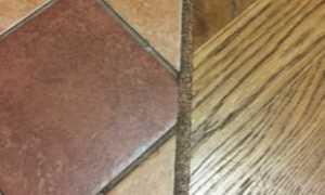 Пробковый компенсатор между плиткой и ламинатом: применение пробкового герметика и соединителя