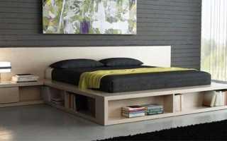 Кровать-подиум с ящиками (15 фото): модели для школьников с матрасом и столом
