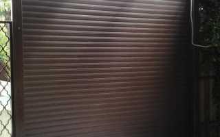 Ворота-рольставни на гараж: рулонные и роллетные стальные гаражные ворота, модели из Германии, отзывы