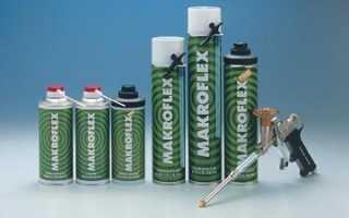 Makroflex: технические характеристики монтажной пены