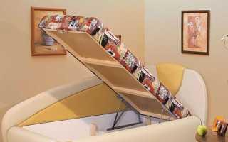 Угловые кровати с подъемным механизмом: 90х200, 140х200 и 120х200, инструкция по сборке