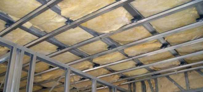 Утеплитель для потолка: чем лучше утеплить