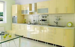 Материал для кухонной мебели: из чего делают мебель для кухни