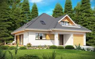 Двухэтажный дом с мансардой (43 фото): кирпичный и деревянный дом с балконом и мансардной крышей
