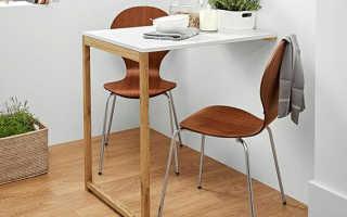 Барные столы (47 фото): модели на колесах для дома, высота и ширина изделий