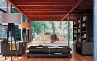 Трехместный диван: 3-х местный кожаный диван из ротанга для гостиной, размеры