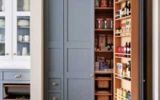 Шкаф в кладовку (40 фото): фурнитура для мебели