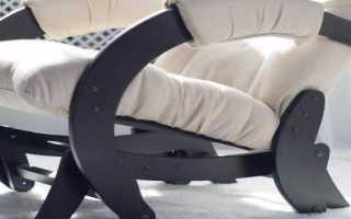 Маятниковое кресло-качалка: механизм и чертежи, как сделать качающееся кресло своими руками